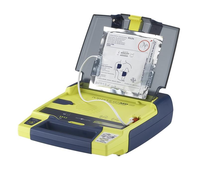 Jane Rawlings Training - Powerheart Automatic Defibrillator 3