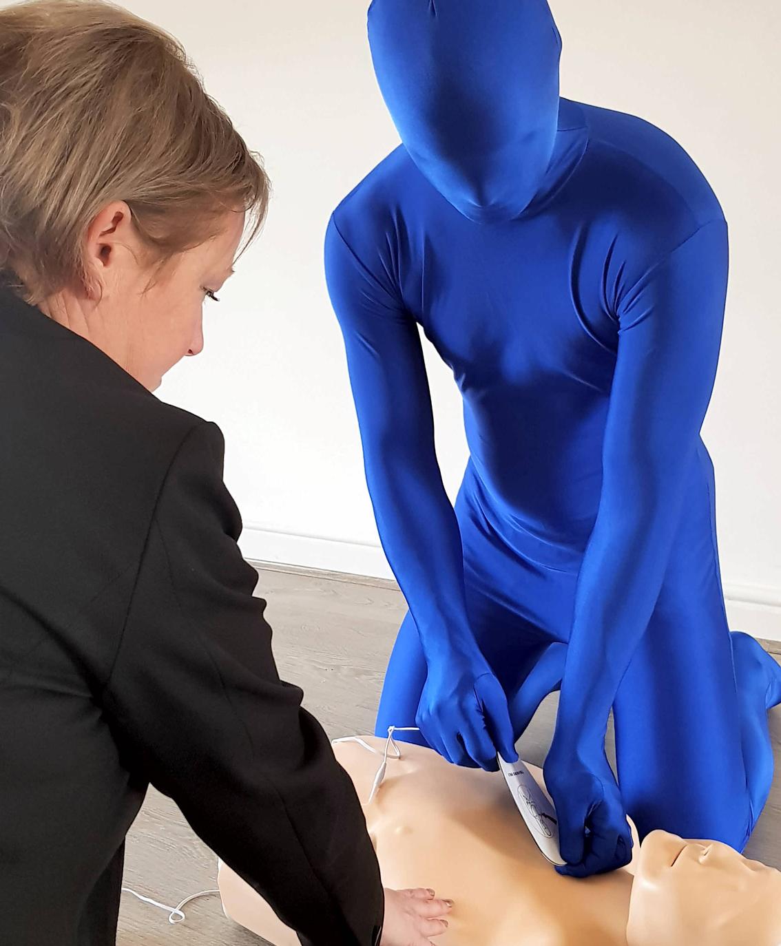 blue-running-man-Jane Rawlings